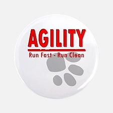 "Agility Run Fast 3.5"" Button"