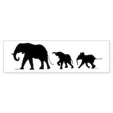Elephant (bumper) Bumper Bumper Sticker
