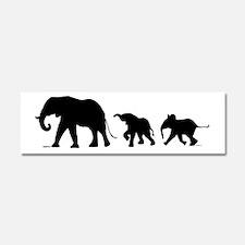 Elephant Car Magnet 10 x 3