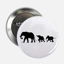"""Elephant 2.25"""" Button (10 Pack)"""