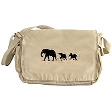 Elephant Messenger Bag