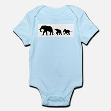 Elephant Infant Bodysuit