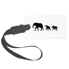 Elephant Luggage Tag