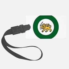 1970-1979 Rhodesian AF roundel Large Luggage Tag