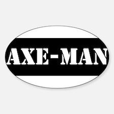 Axe-man Decal