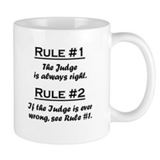 Rule Judge Mugs