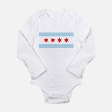Chicago Flag Body Suit