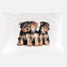 Yorkie Puppies Pillow Case