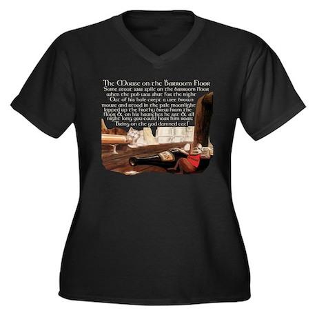 barmousedark2 Plus Size T-Shirt
