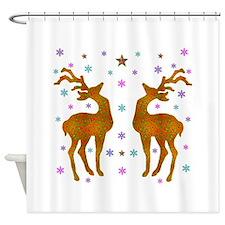 Seasons Greetings! Shower Curtain