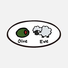 Olive Ewe Patches
