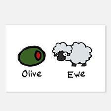 Olive Ewe Postcards (Package of 8)