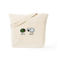 Olive Ewe Tote Bag