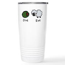 Olive Ewe Travel Mug