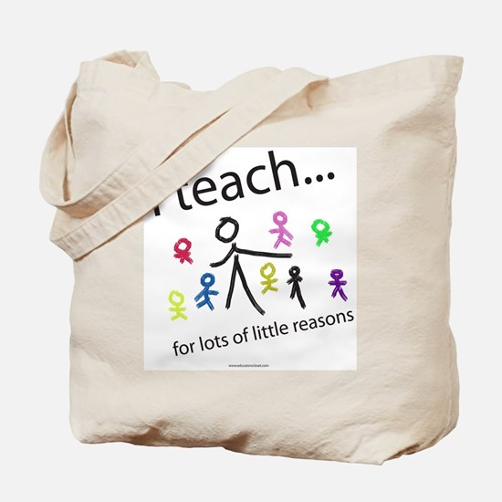 Cute Education Tote Bag