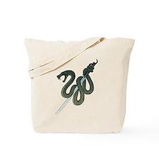 Katana Snake Tote Bag