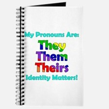 They Them Theirs Pronouns Journal
