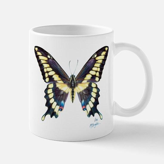 Lefty-giant swallowtail butterfly Mug