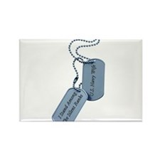 silent ranks Rectangle Magnet (10 pack)
