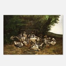 Lazy Day for Geese Postcards (Package of 8)