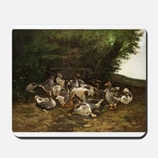 Lazy Day for Geese Mousepad