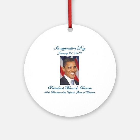 Inauguration Day Jan/21/2013 Ornament (Round)