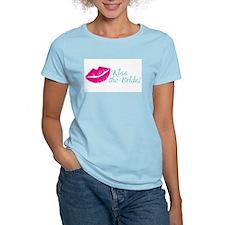 Kiss the Bride Bachelorette, Bridal Shower T-Shirt