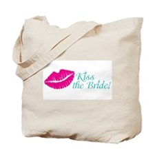 Kiss the Bride Bachelorette, Bridal Shower Tote Ba