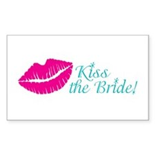 Kiss the Bride Bachelorette, Bridal Shower Decal