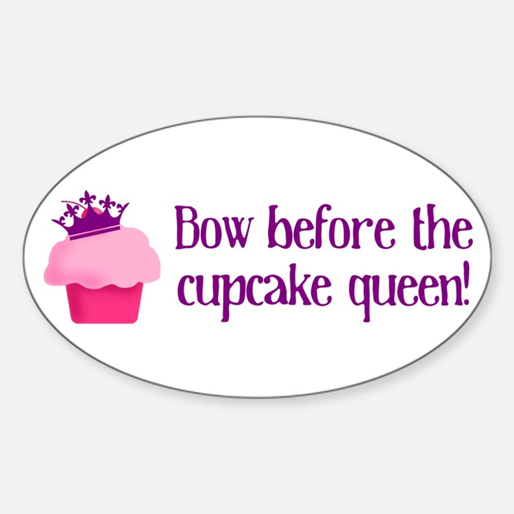 Queen Cupcake Decal