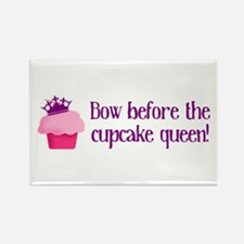 Queen Cupcake Rectangle Magnet (10 pack)