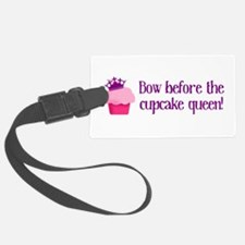 Queen Cupcake Luggage Tag