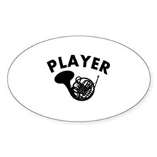 French Horn player design Decal