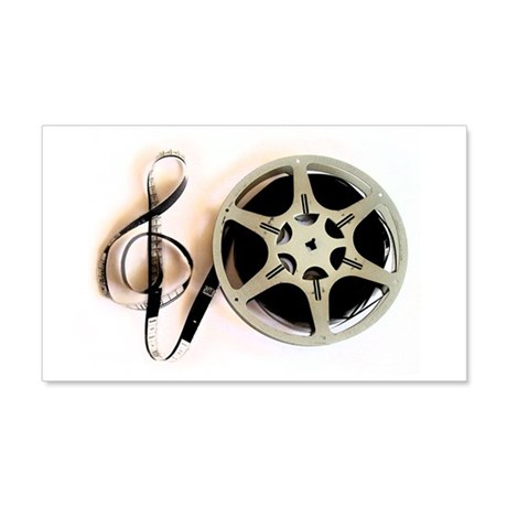 Reel and Clef Film Music Design2 20x12 Wall Decal