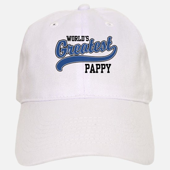World's Greatest Pappy Baseball Baseball Cap