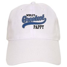 World's Greatest Pappy Baseball Cap