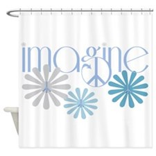 imagine.png Shower Curtain