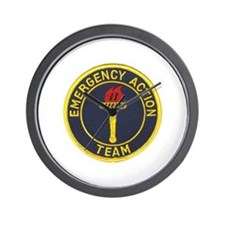 Emergency Action Team Wall Clock