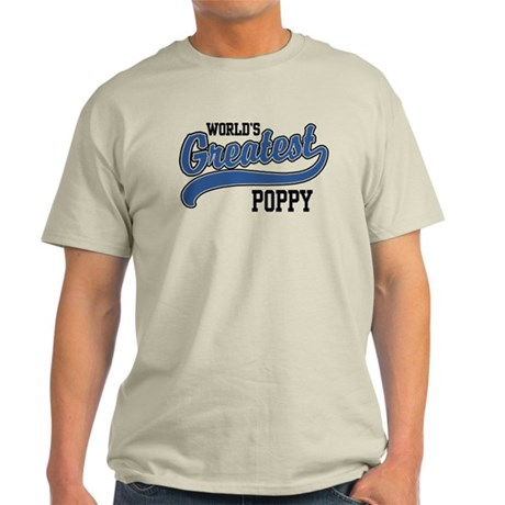 World's Greatest Poppy Light T-Shirt