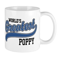 World's Greatest Poppy Small Mugs