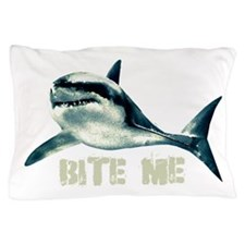 bitemeshark.png Pillow Case