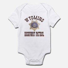 Wyoming Highway Patrol Infant Bodysuit