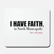 I HAVE FAITH Mousepad