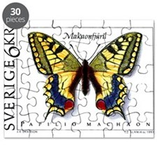1993 sweden Swallowtail Butterfly Postage Stamp Pu