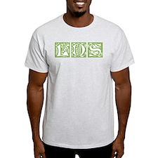 LDS ornamental (green) Ash Grey T-Shirt