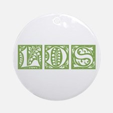 LDS ornamental (green) Ornament (Round)