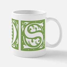 LDS ornamental (green) Small Mugs