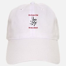 TTC Black Heart Design Baseball Baseball Cap