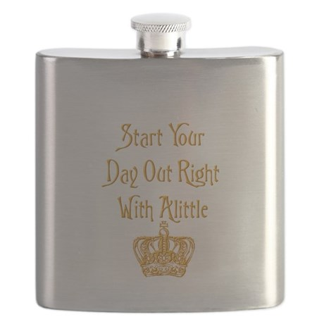 Alittle Crown Flask