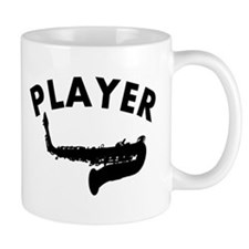 Saxophone player design Small Mug